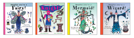 Four whimsical picture books for ages 4 to 9