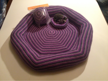 Handmade Cat Bed, Catnip Toy and Mini Bed with Customized Miniature Version of Your Cat