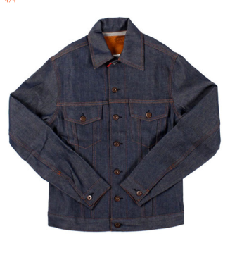 Men's Denim Jacket by Naked and Famous Denim